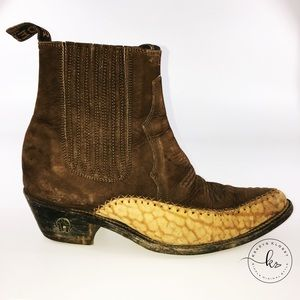 Shoes - Leather Denyer Cowboy boots
